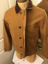 FCUK French Connection UK CALIPER CANVAS CAR JACKET Size M Lined w/pockets
