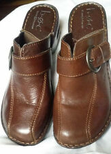"B.O.C Born O Concept Womens Clogs 'Katina"" Shoes Size 9 M/W /40.5 Brown Bc6629"