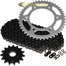 Black O-Ring Drive Chain & Sprockets Kit Fits HONDA XR650L 1993-2017