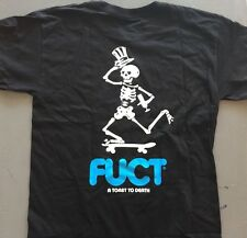 FUCT Skating Dead Black T Shirt SIZE XXL NEW IN BAG