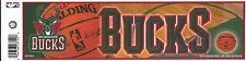 MILWAUKEE BUCKS NBA LICENSED BUMPER STICKER NEW