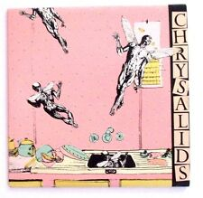 CHRYSALIDS - STOP THE CLOCK / THEM - AUSSIE 1987 INDIE SINGLE, INSERT