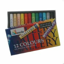 Inscribe Oil Pastels 12 Artist Colours