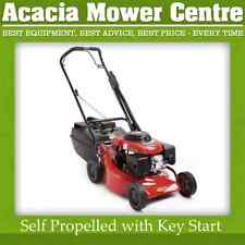 "Push Mower, 18"" Cut, Rover Regal Key Start, Self Propelled"