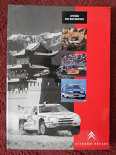 CITROEN ZX Rallye Raid Motor Sport 1992 orig UK Mkt Press Pack / Kit with photos