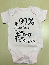 New Funny Personalised Baby/Toddler Vest Great Newborn Gift-Body Suit/Grow