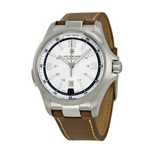 Victorinox Swiss Army Night Vision Silver Dial Mens Watch 241570