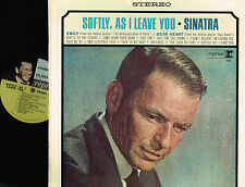 "FRANK SINATRA Softly, As I Leave You 12"" LP Reprise US Stereo 1964 FS1013 @VG/EX"