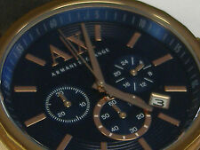 ARMANI EXCHANGE MEN'S WRIST WATCH 45 MM CASE.