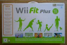 BALANCE WII FIT PLUS PAK NINTENDO WII STOCK FUND NEW  NUOVO