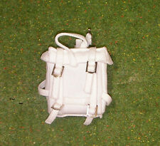 VINTAGE ACTION MAN 40th LOOSE ADVENTURER SKI PATROL WHITE CAMOUFLAGE BACK PACK