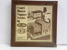 "HELJAN-CON-COR HO U/A ""TWO STOREFRONT BUILDINGS"" PLASTIC MODEL KIT #B902"