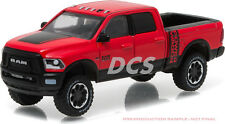 GREENLIGHT 2017 DODGE RAM 1500 POWER WAGON FLAME RED / BLACK 1/64 DIECAST 29873