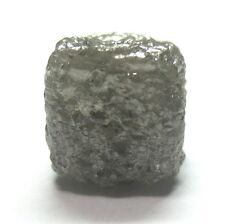 8.77 Carats Uncut Natural Raw SILVER Rough Cubic Cube Diamond