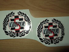 Mini Cooper S Classic stickers X2