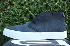 VANS CHUKKA DECON RHYME SYNDICATE SZ 10 ICE T BLACK PERFORATED VN 0VIMAN5