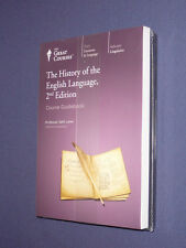 Teaching Co Great Courses DVDs       HISTORY of the ENGLISH LANGUAGE  new sealed
