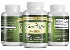Green Coffee Premium - Weight Loss Supplement - 50% Chlorogenic Acid  -3 Bottles