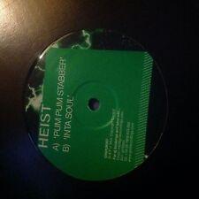 """Heist-Pum Pum Stabber/Inta Soul 12"""" Drum and Bass Vinyl Grid Recordings D&B"""