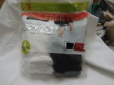 7 pair Women's No Nonsense Cotton Quarter Top Socks 4 -10 3 Black 4 White NEW