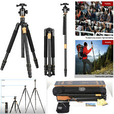 QZSD Q999 Professional Monopod Tripod+Ball Head for DSLR Canon Nikon Sony Camera