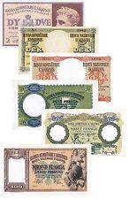 Italia regno d'italia albania 6 banconote (Riproduzione/copy)