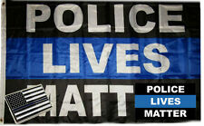 Wholesale 3x5 Police Lives Matter Flag Decal Sticker Memorial Lapel Pin Set 4