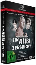Ein Alibi zerbricht - Regie Alfred Vohrer - mit Peter van Eyck - Filmjuwelen DVD