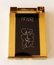 ST DUPONT JEROBAOM PICASSO TABLE LIGHTER - COMPLETE WITH BOX AND PAPERS #168/500