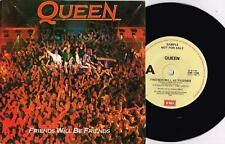 "QUEEN - FRIENDS WILL BE FRIENDS - RARE 7"" 45 SAMPLE VINYL RECORD w PICT SLV 1986"