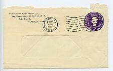 Enteros postales GB sobre ES80 Sto usado 1960 Hayes Consejo (J874)