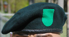Early 10th Special Forces Group (ABN) Beret w/ Felt Flash