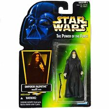 "KENNER HASBRO STAR WARS POTF 3 1996 Emperor Palpatine 4"" with Walking Stick NEW"
