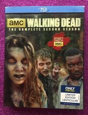 The Walking Dead: Season 2 (Blu-ray, 2012) NEW w/ OOP Lenticular Slipcover