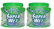 2 UNITS  SUPER WET GEL SPECIAL FOR BLACK COARSE HAIR CONTROL BUT NOT HARD AND KE