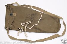 WWII US Paratrooper Training Gas Mask Bag style as shown Olive Drab each E1738