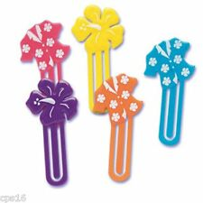 Hawaiian Shirt Hibiscus Picks...12 Pack..Tropical..Luau Cocktail Party..Cup Cake