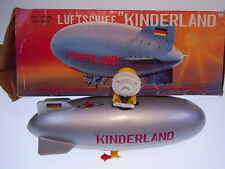 "BANDAI LUFTSCHIFF/ZEPPELIN  ""KINDERLAND""; BO, 22cm, NEARLY NEW/NEU IN GOOD BOX!"