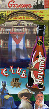"""CUBAN ART**TABACOS**ORIGINAL COLLAGE 10X23""""APPROXIMATELY"""