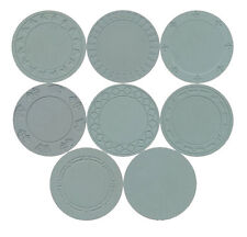 SET OF 8 ASM Mold Samples Casino Quality Casino Chips FREE SHIPPING