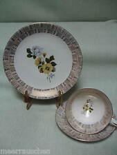 Sammelgedeck sammeltasse Waldsassen garels bavaria Rose decoración oro 8708