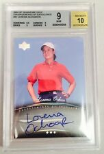 2004 Upper Deck Golf - LORENA OCHOA - Beckett 10 Autograph  Card 9 Mint LPGA