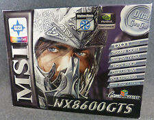 MSI Nvidia GeForce 8600 GTS 512MB GDDR3 SDRAM PCI Express x16 Video Card