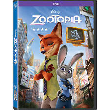 Zootopia DVD 2016 Animation, Kids, Comedy, Family SEALED NOW SHIPPING !