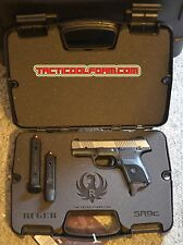 Custom Case for RUGER SR9c Pistol - Laser Cut Inserts Perfect Fit!