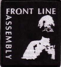 Front Line Assembly-Lady Embroidered Patch