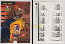 NBA FLEER 1995-1996 SERIES 2 - Dikembe Mutombo, Nuggets # 397 - Near Mint
