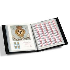 Large Banknote Stamps Mint Sheets Stock Certificate Historic Document Album 9x12