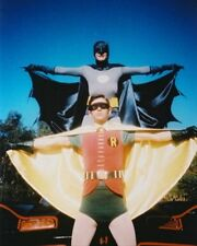 ADAM WEST AS BRUCE WAYNE/BATMAN, BURT WARD A 8X10 PHOTO