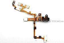 OEM Black Headphone Audio Jack Power Button Volume Flex Cable for iPhone 3G 3GS